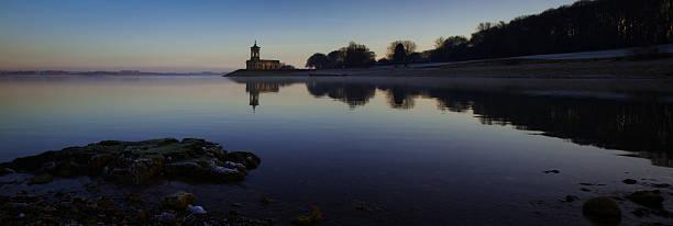 Sunrise at Normanton Church