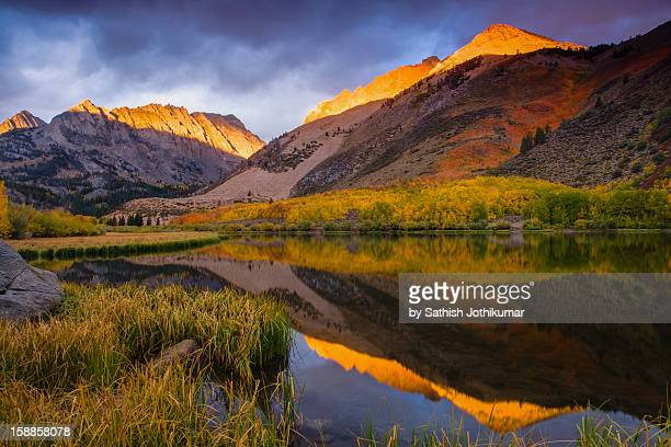 sunrise at north lake - foothills stock pictures, royalty-free photos & images