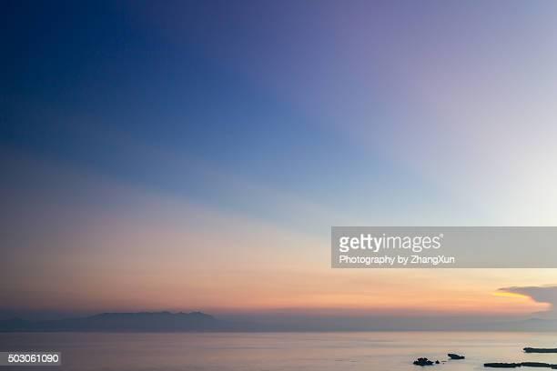 Sunrise at Okinawa