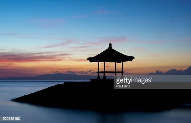 Sunrise at Pantai Karang Sanur Beach, Bali, Indonesia