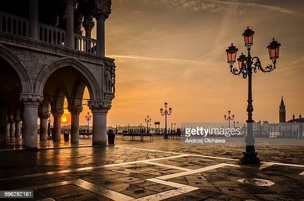 Sunrise at Piazza San Marco