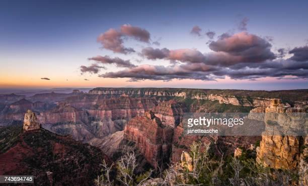 Point imperial foto e immagini stock getty images for Grand canyon north rim mappa della cabina