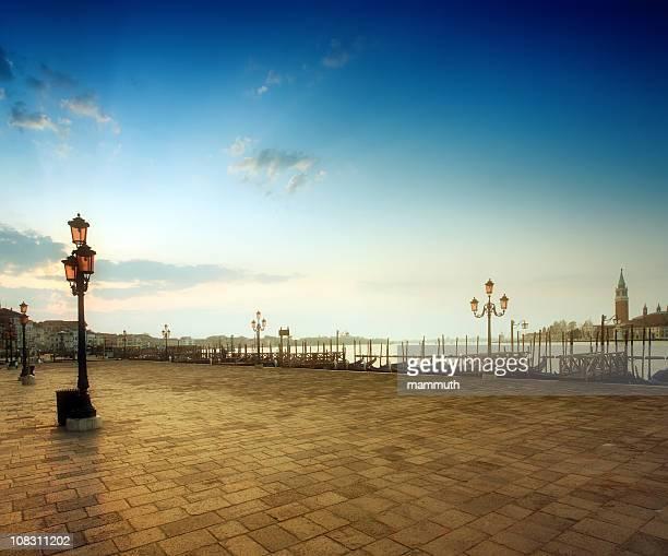 Sunrise at Saint Mark's Square, Venice