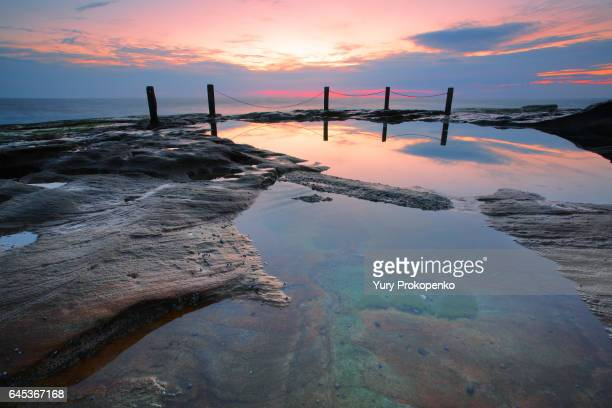 Sunrise at South Coogee, Australia