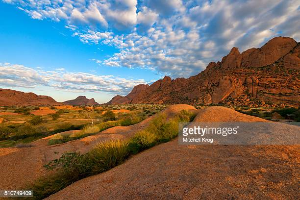 Sunrise at Spitzkoppe in Namibia
