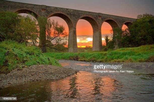 Sunrise at Tassagh Viaduct