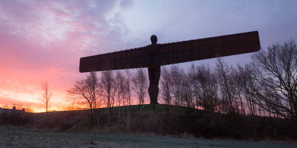 Views Of The Angel Of The North Ahead Of It's 20th Birthday