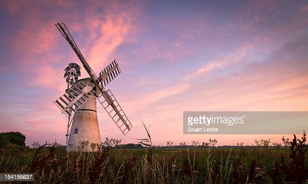 Sunrise at Thurne Mill