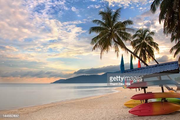 Sunrise at Tioman Island