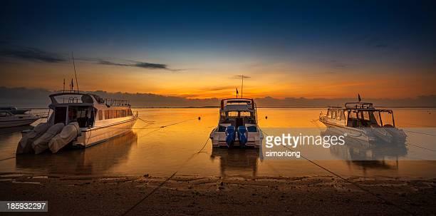 Sunrise beach in Bali