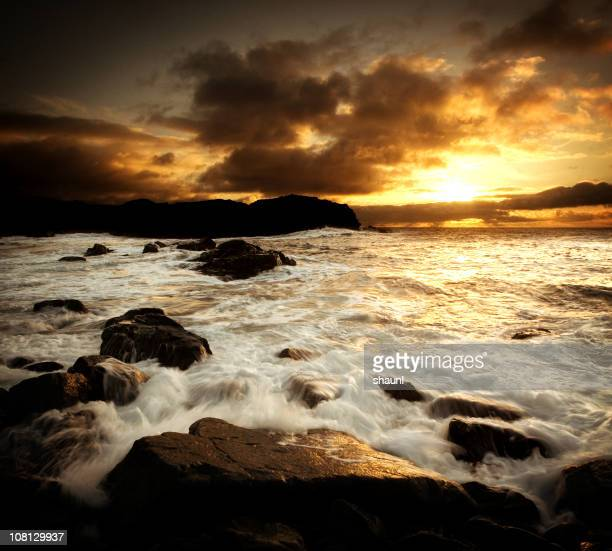 sunrise coast - cape breton island stock pictures, royalty-free photos & images