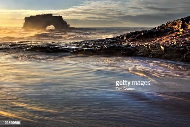 sunrise coast - santa cruz - tom grubbe stock pictures, royalty-free photos & images