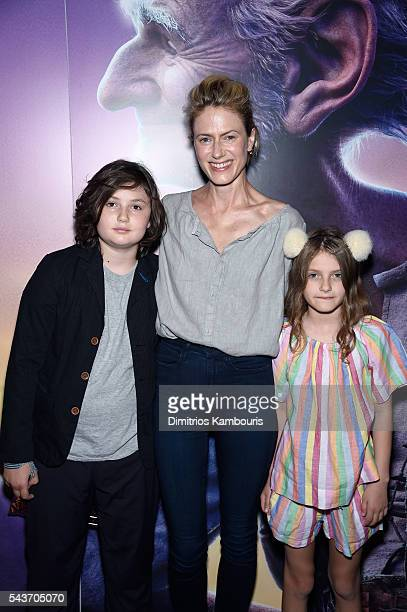 Sunrise Coigney and guests attend a Screening of The BFG hosted by Disney the Cinema Society at Village East Cinema on June 29 2016 in New York City