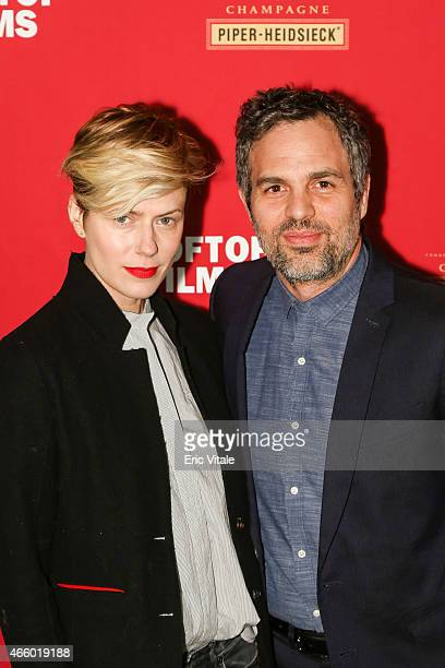 Sunrise Coigney and Mark Ruffalo attend as Champagne Piper-Heidsieck and Rooftop Films present a special preview of Ethan Hawke's new documentary...