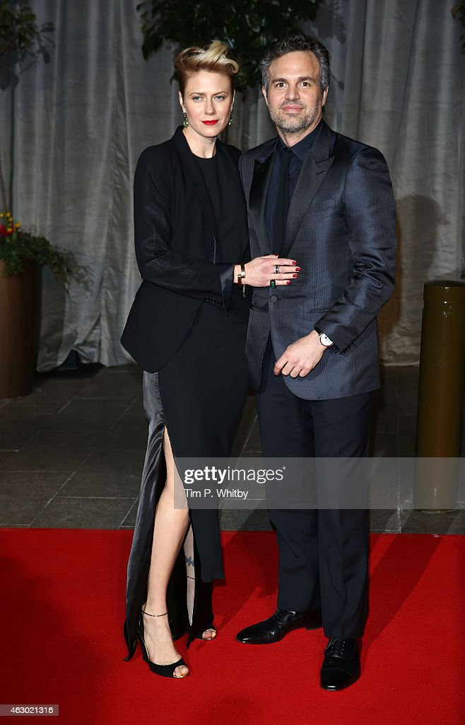 Sunrise Coigney and Mark Ruffalo attend the after party for the EE British Academy Film Awards at The Grosvenor House Hotel on February 8, 2015 in London, England.