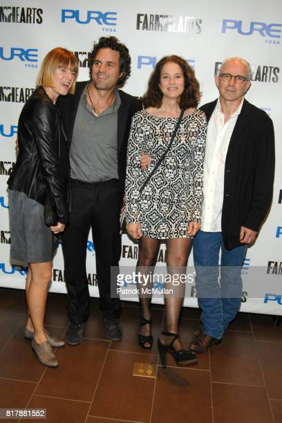 Sunrise Coigney Mark Ruffalo Debra Winger and Arliss Howard attend Launch and Celebration of Farmhearts at Pure Yoga on September 23 2010 in New York...