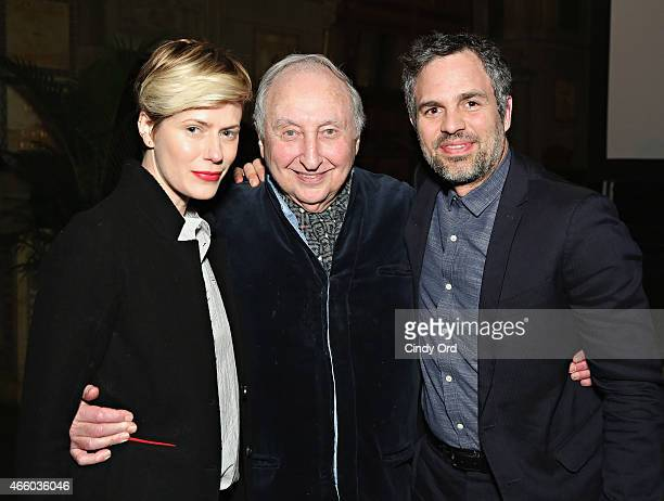 Sunrise Coigney, Seymour Bernstein and Mark Ruffalo attend as Champagne Piper-Heidsieck and Rooftop Films present a special preview of Ethan Hawke's...