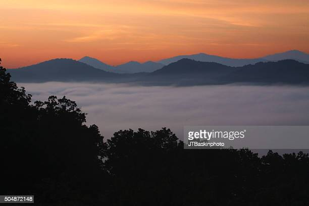 Sunrise from Foothills Parkway
