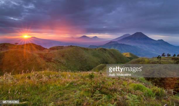Sunrise from Mt. Prau