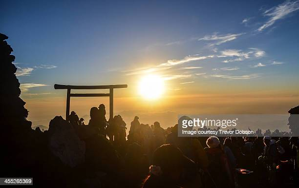 Sunrise from the Summit of Mt Fuji