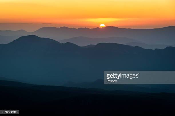 Sunrise from the top of Sundial Peak in Southern Grampians, Victoria