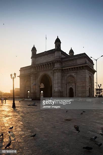 Sunrise Gateway of India, Colaba - Mumbai, India.
