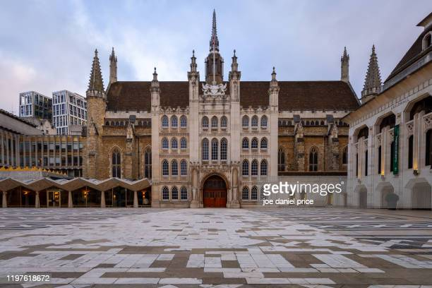 sunrise, guildhall, london, england - guildhall london stock pictures, royalty-free photos & images