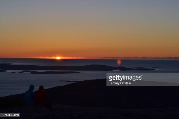 sunrise in acadia, bar harbor, maine - tammy bar stock pictures, royalty-free photos & images