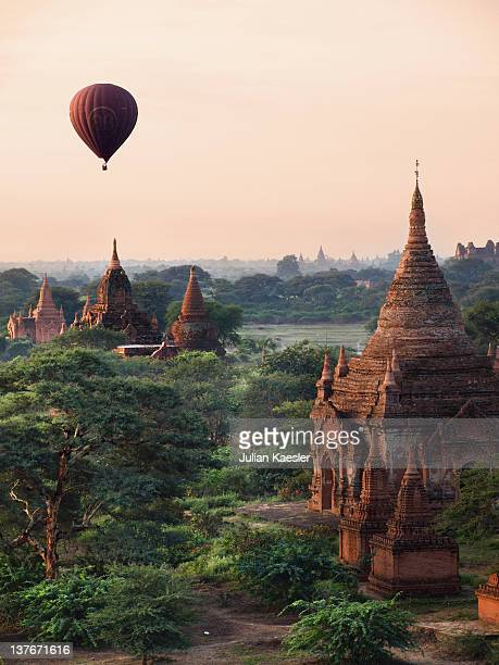 Sunrise in ancient Bagan