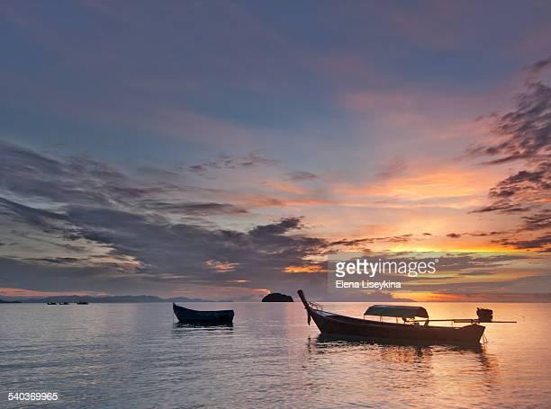 Sunrise in Andaman Sea