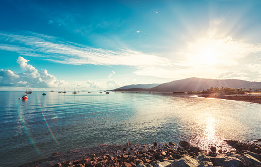 Sunrise in Arlie Beach - gettyimageskorea