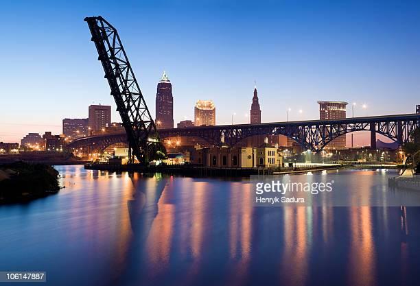 Sunrise in Cleveland