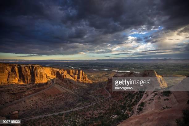 Sunrise in Colorado National Monument