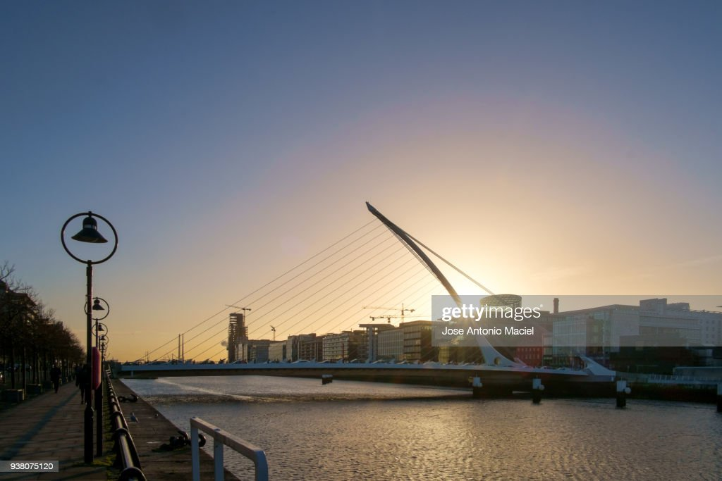 sunrise in dublin stock photo getty images