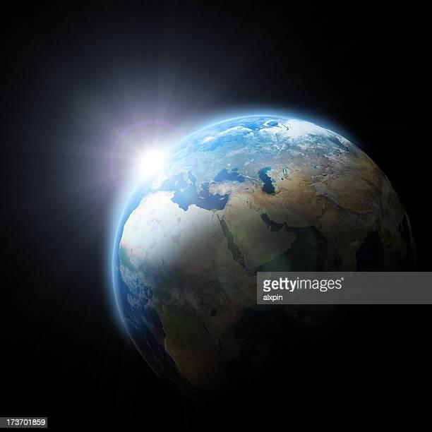Sunrise in Europe
