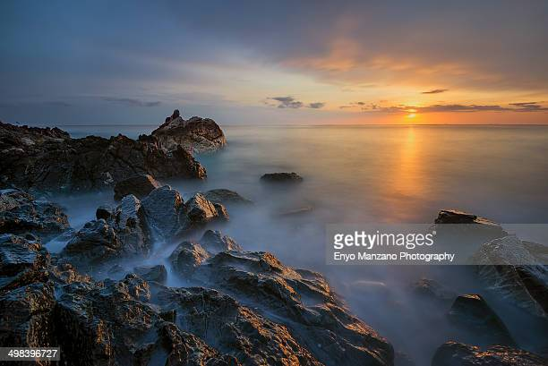 Sunrise in Fujairah Beach