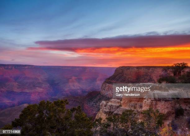Sunrise in Grand Canyon, South Rim, Arizona, USA