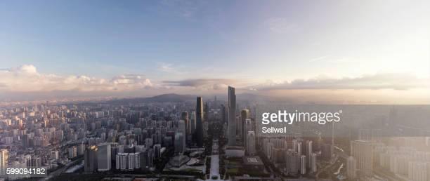 Sunrise in Guangzhou