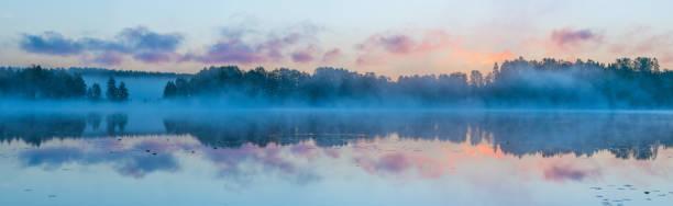 Sunrise In Iittala, Finland