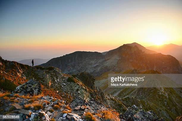 Sunrise in Rila mountain, Bulgaria