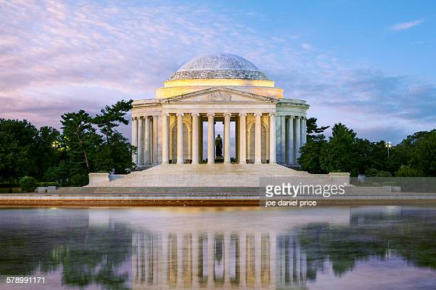 Sunrise, Jefferson Memorial