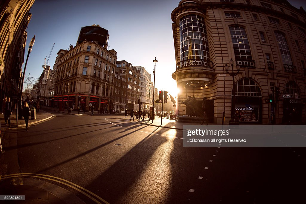 Sunrise London Central : Stock Photo