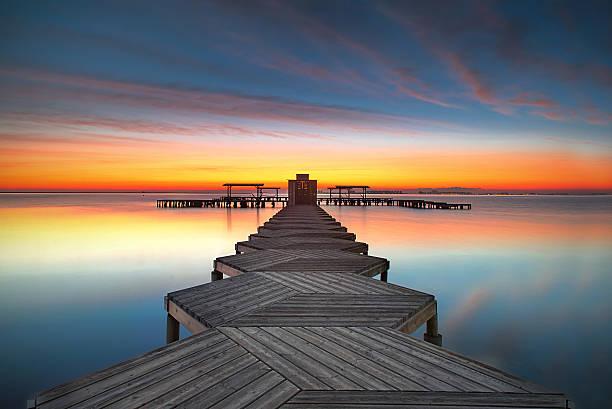 sunrise Mar Menor