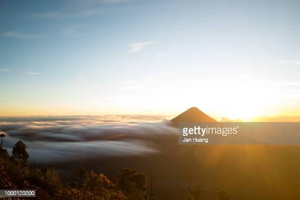 Sunrise of Agua Volcano