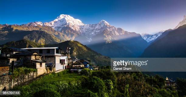 Sunrise of Annapurna South