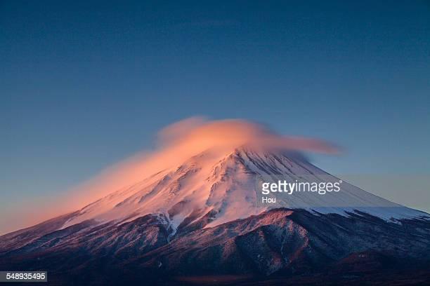 sunrise of Fuji mountain