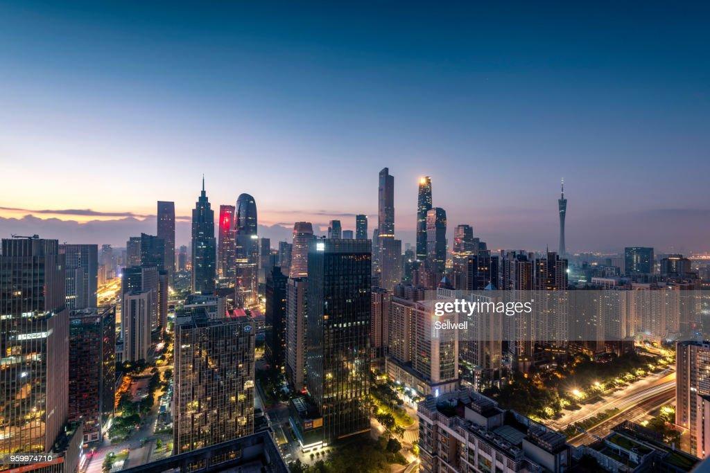 Sunrise of Guangzhou : Stock-Foto