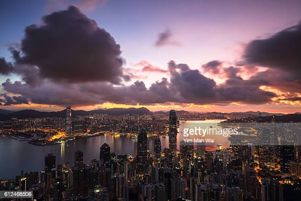Sunrise of Hong Kong