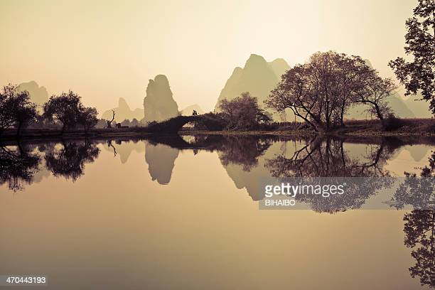 Sunrise of Lijiang River