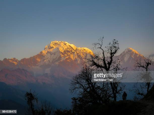 Sunrise on Annapurna south